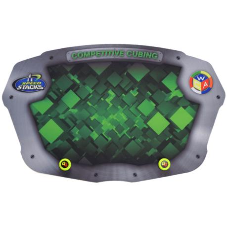 Stackmat Pro Mat G4 Green   Стакмат Про Мат для кубика Г4 Зеленый