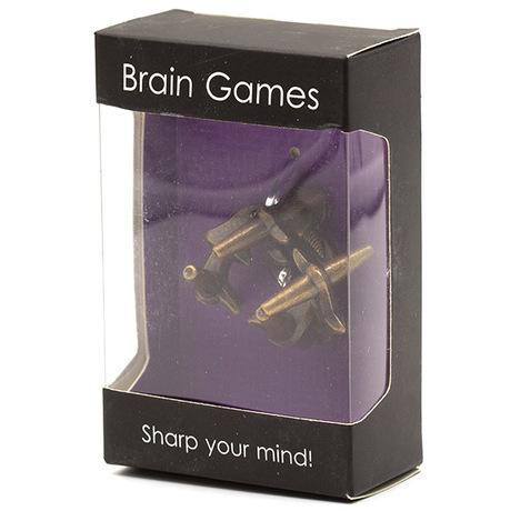 Brain Games Metal Antlers