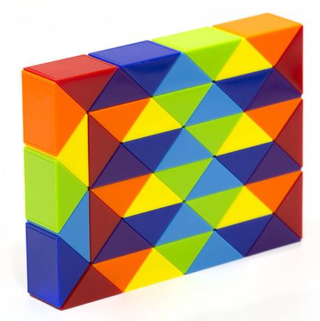 Змейка Рубика LanLan Rainbow (48 блоков)