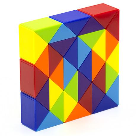 Змейка Рубика LanLan Rainbow (36 блоков)