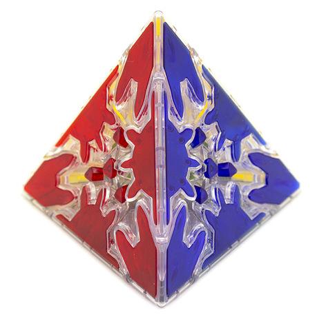 QiYi MoFangGe Gear Pyra Transparent
