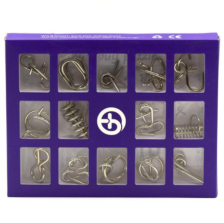 Набор металлических головоломок