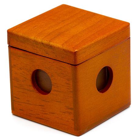 Wooden Cube 3D-Tangram   Деревянный Куб Танграм