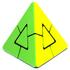 JH Lefun Pyraminx Duo | Лефан Пираминкс Дуо