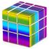 Rainbow Mirror Blocks | Зеркальный Кубик