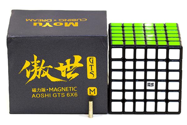 MoYu 6x6 AoShi GTS Magnetic   МоЮ 6 на 6 АоШи ГТС Магнетик