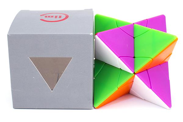 LimCube 2x2 Transform Pyraminx - Pyrastar   ЛимКуб Трансформ Пирастар